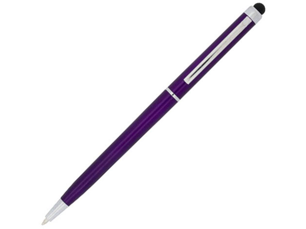 Ручка пластиковая шариковая Valeria, пурпурный