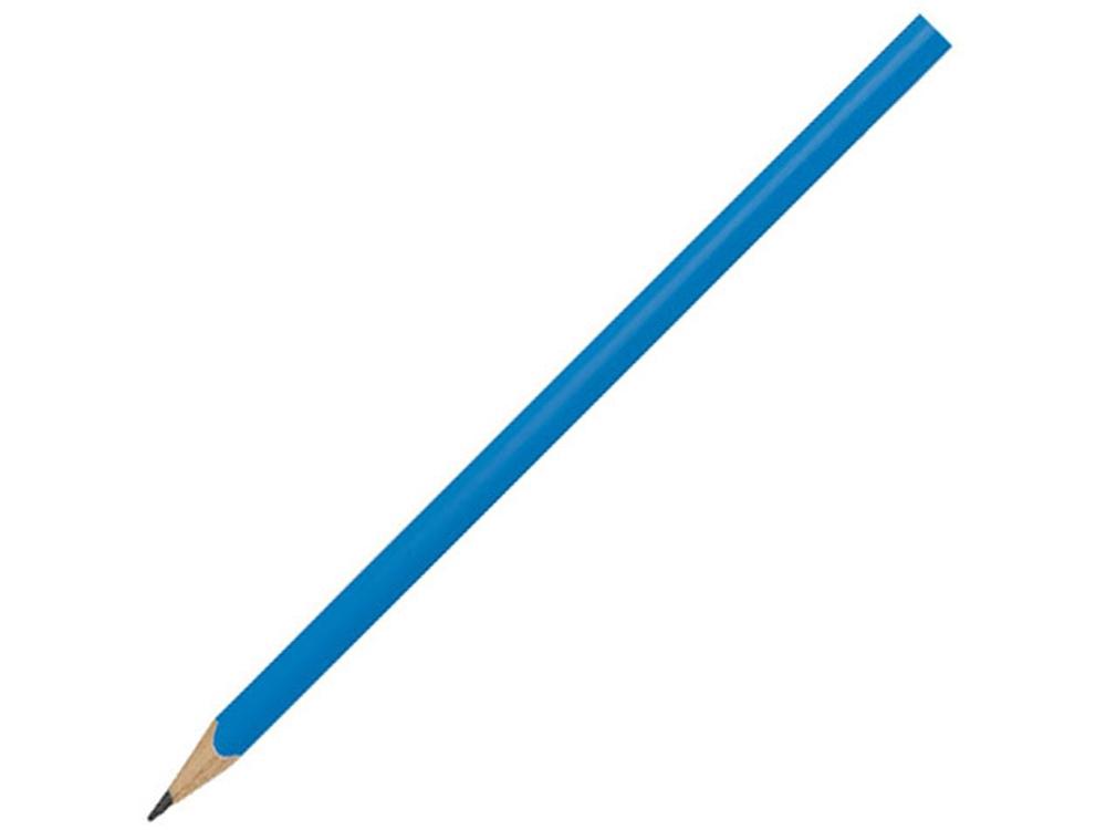 Треугольный карандаш Trix, голубой