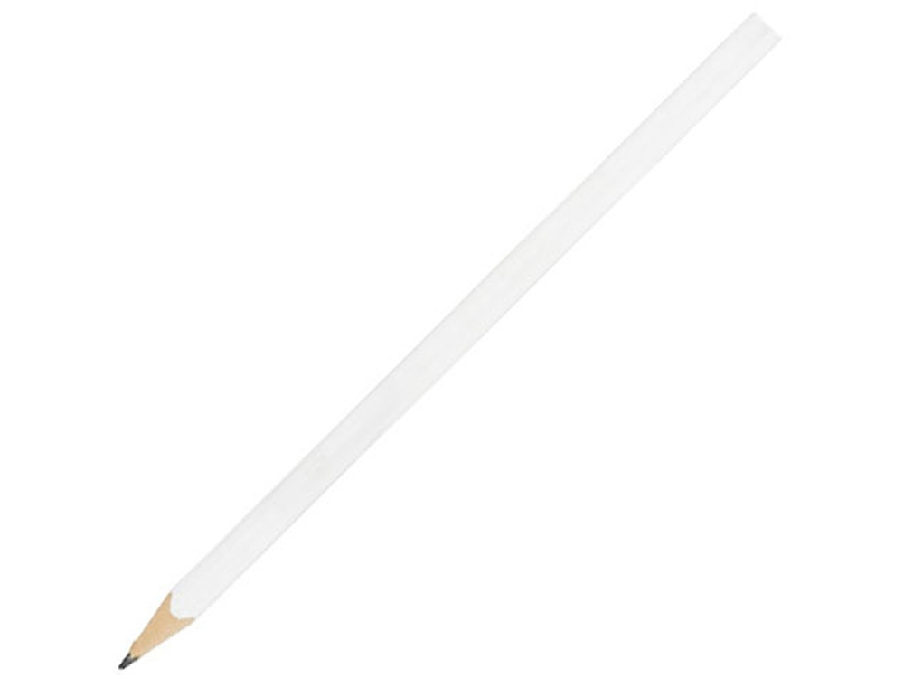 Треугольный карандаш Trix, белый