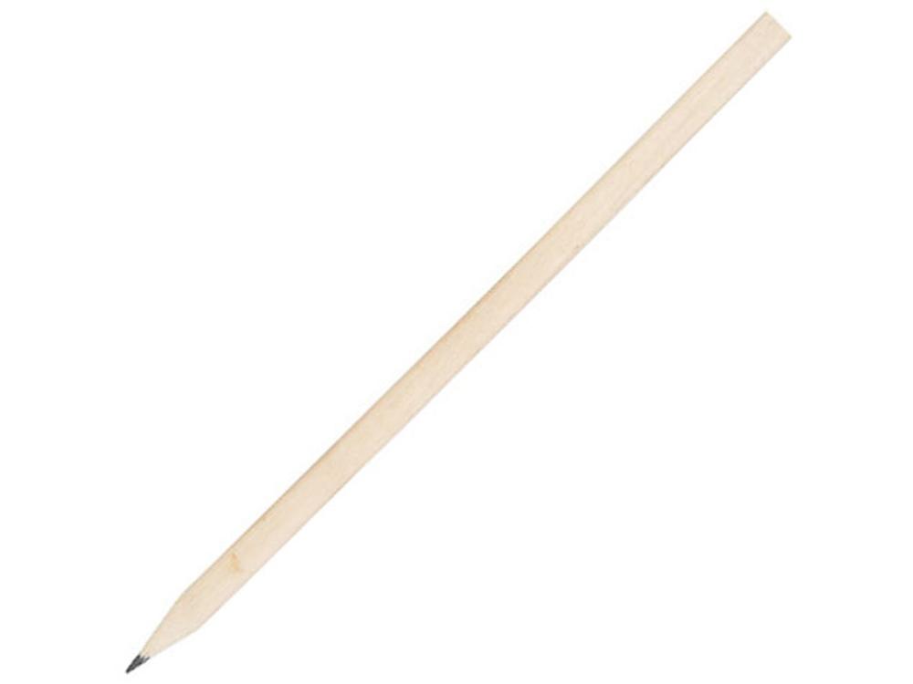 Треугольный карандаш Trix, натуральный
