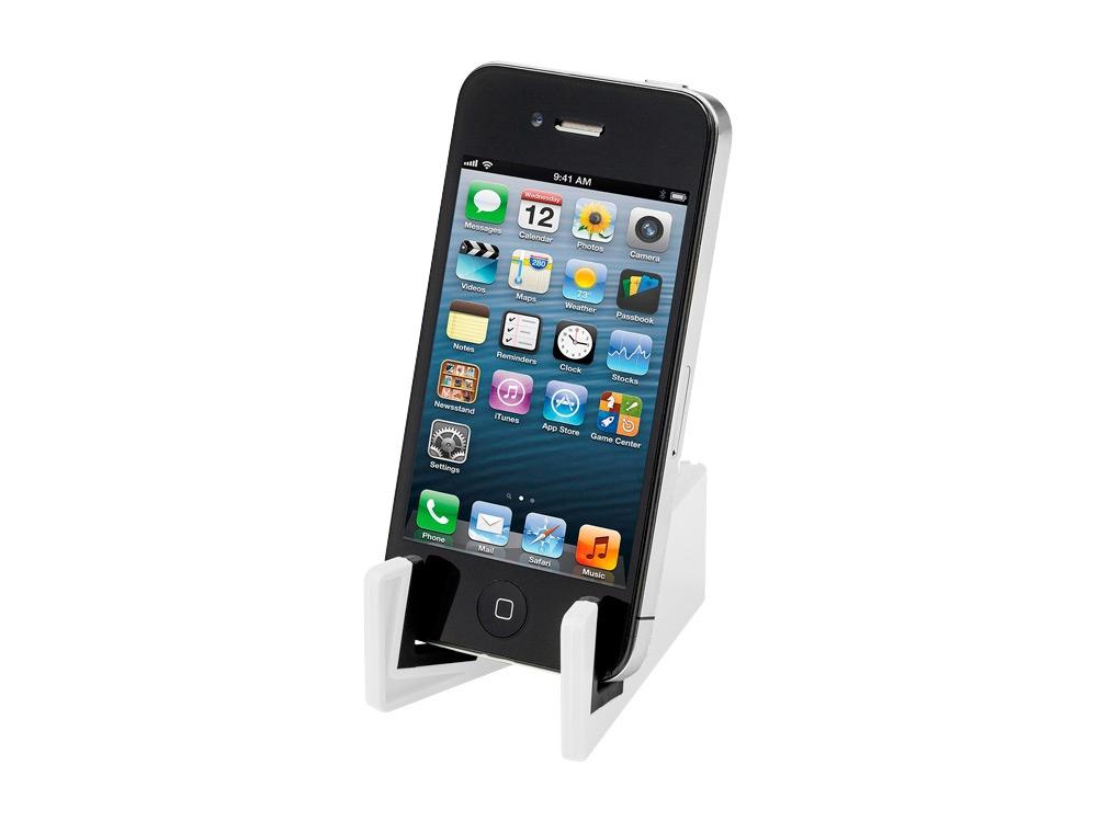 Подставка для мобильного телефона Slim, белый