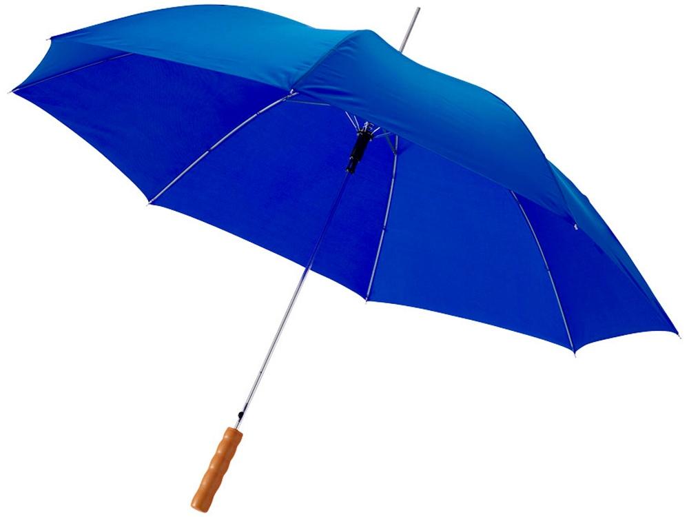 Зонт-трость Lisa полуавтомат 23, ярко-синий