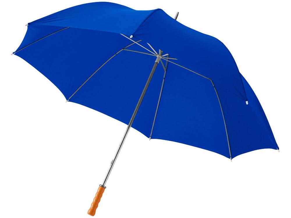 Зонт Karl 30 механический, ярко-синий