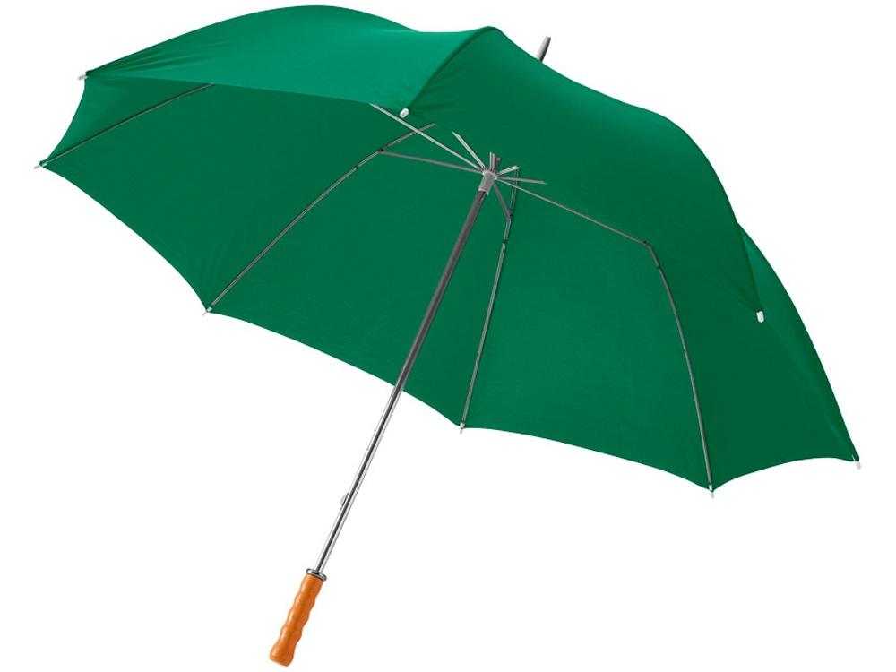 Зонт Karl 30 механический, зеленый