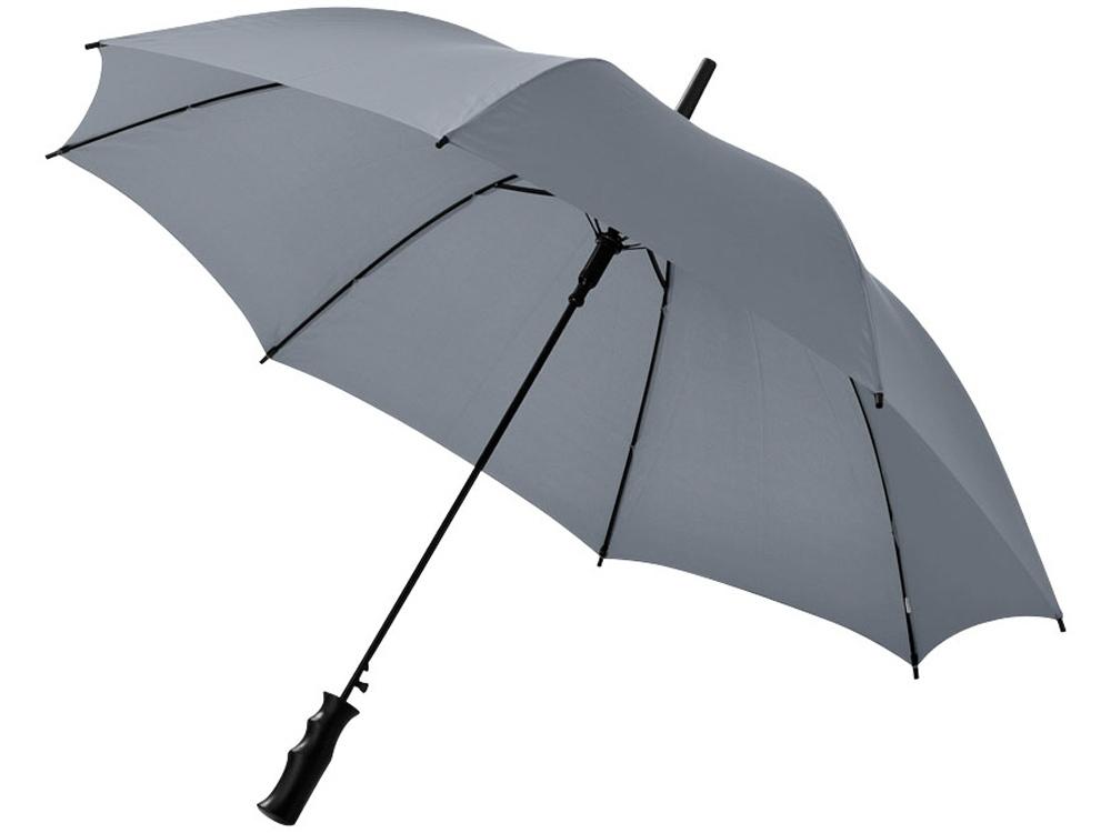 Зонт Barry 23 полуавтоматический, серый