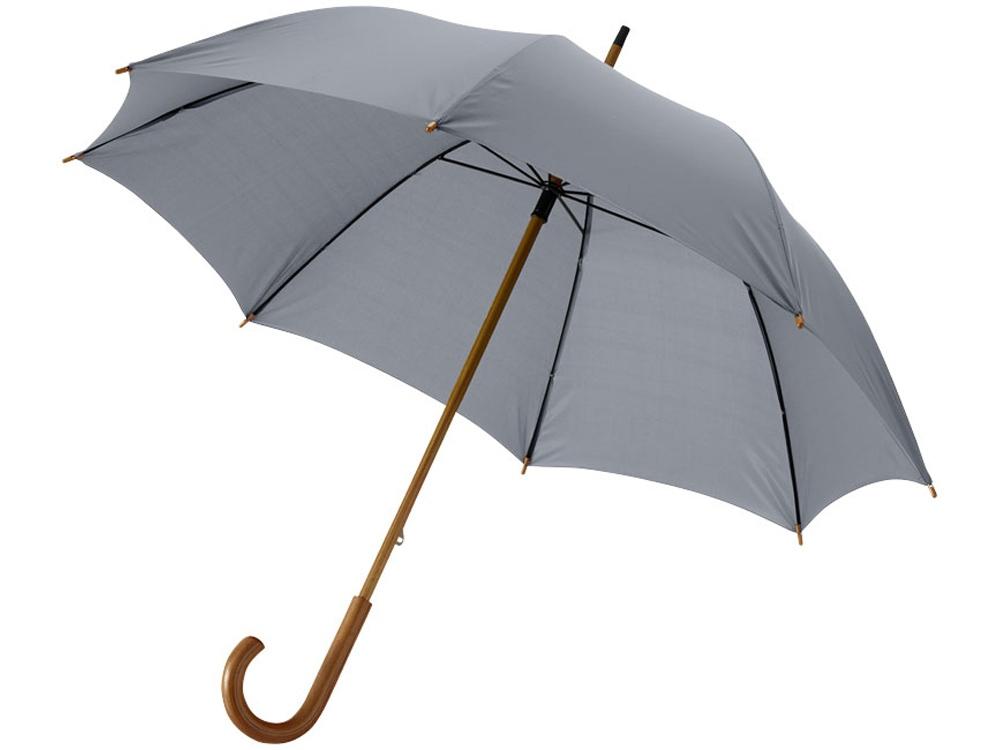 Зонт-трость Jova 23 классический, серый