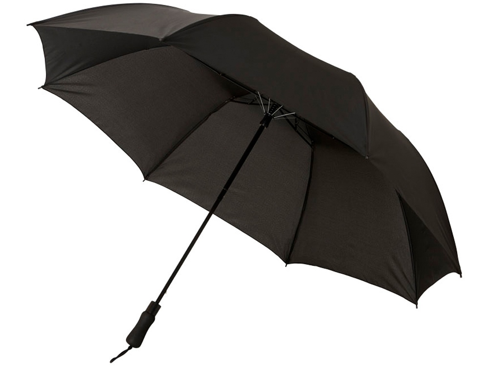 Зонт Argon 30 двухсекционный полуавтомат, черный