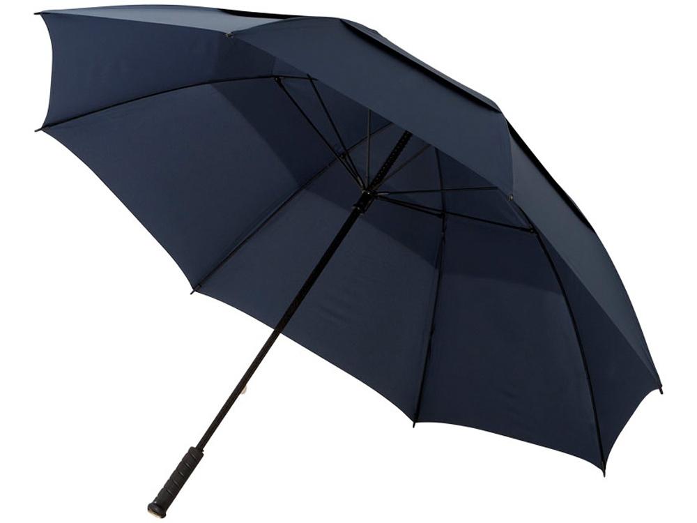 Зонт-трость Newport 30 противоштормовой, темно-синий