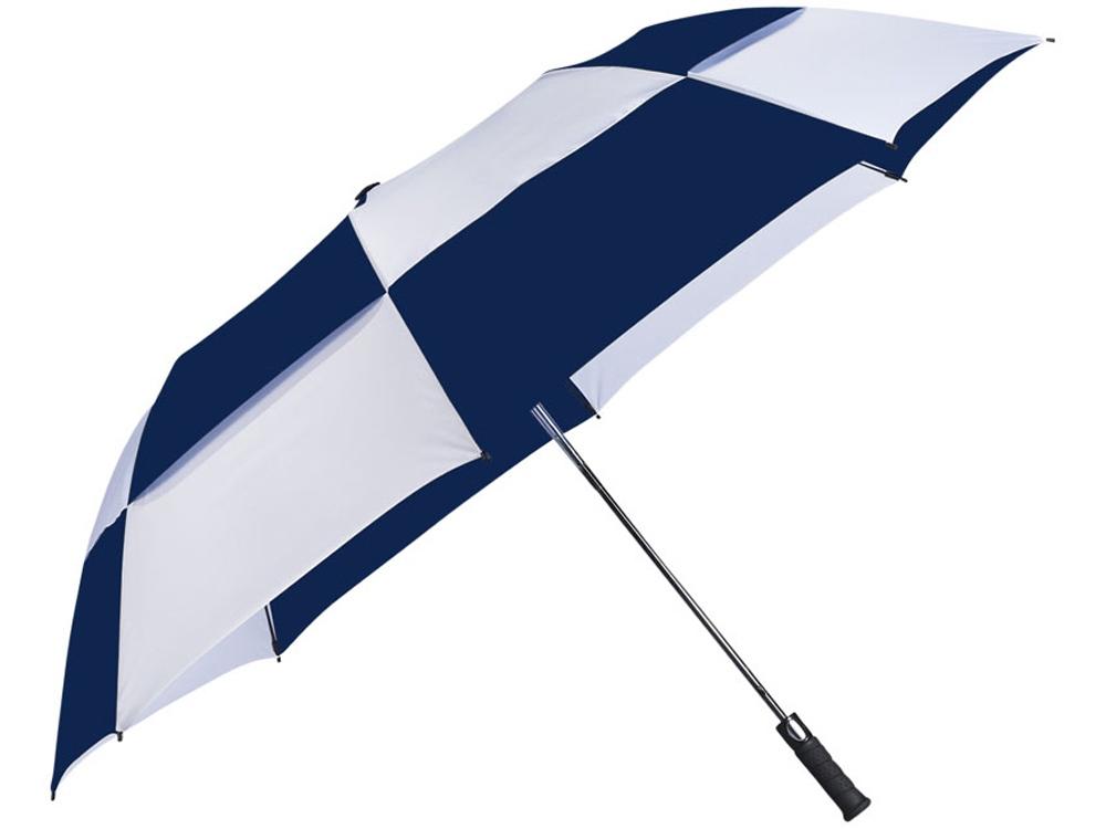 Зонт двухсекционный Norwich с автоматическим открытием, 30, темно-синий
