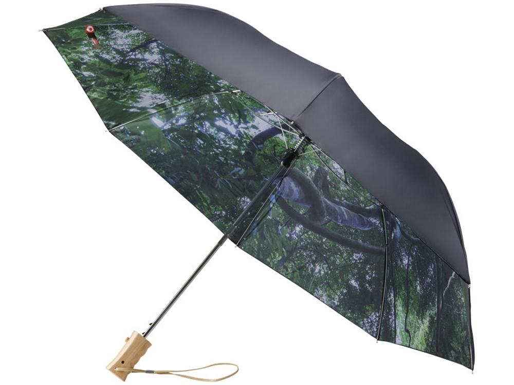 Зонт складной «Forest», черный