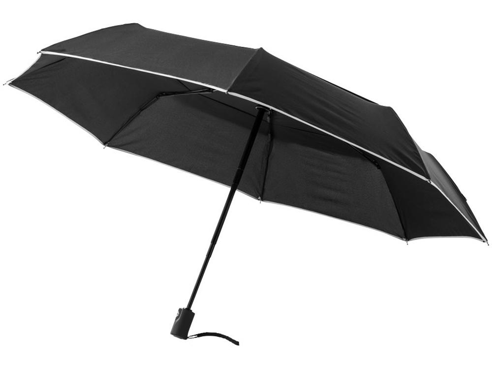 Зонт складной «Scottsdale» автомат, черный