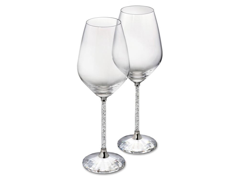 Бокалы Crystalline для белого вина (набор из 2 шт.). Swarovski
