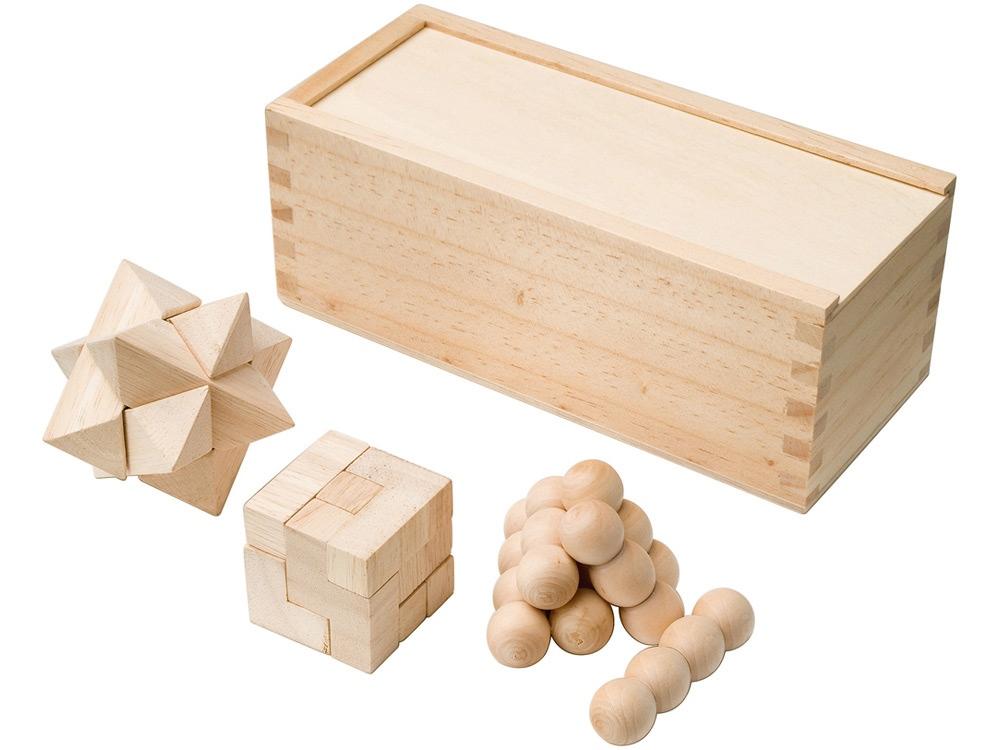 3 деревянные головоломки Brainiac