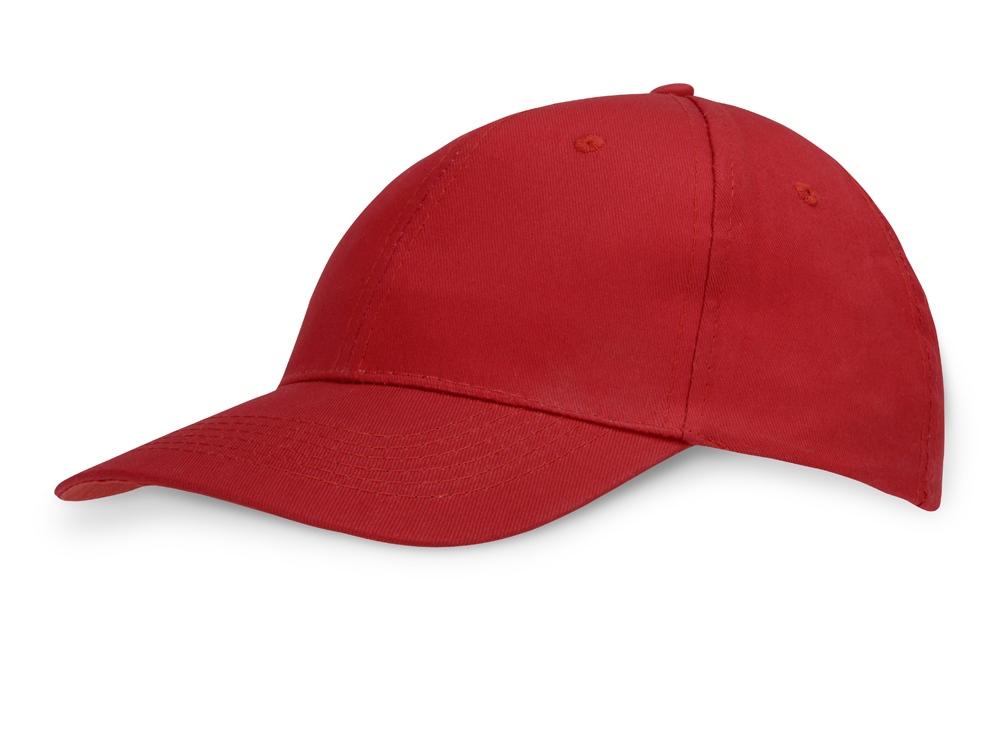 Бейсболка Detroit 6-ти панельная, красный