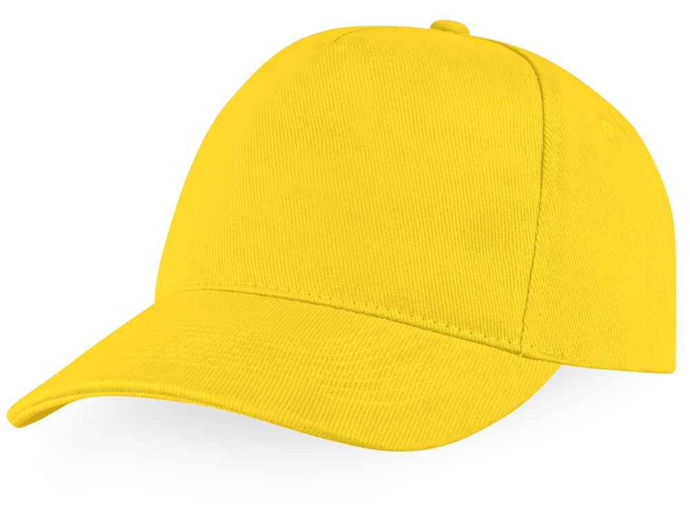 Бейсболка Florida C 5-ти панельная, желтый