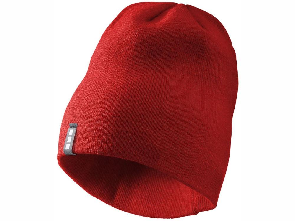 Шапка Level, красный