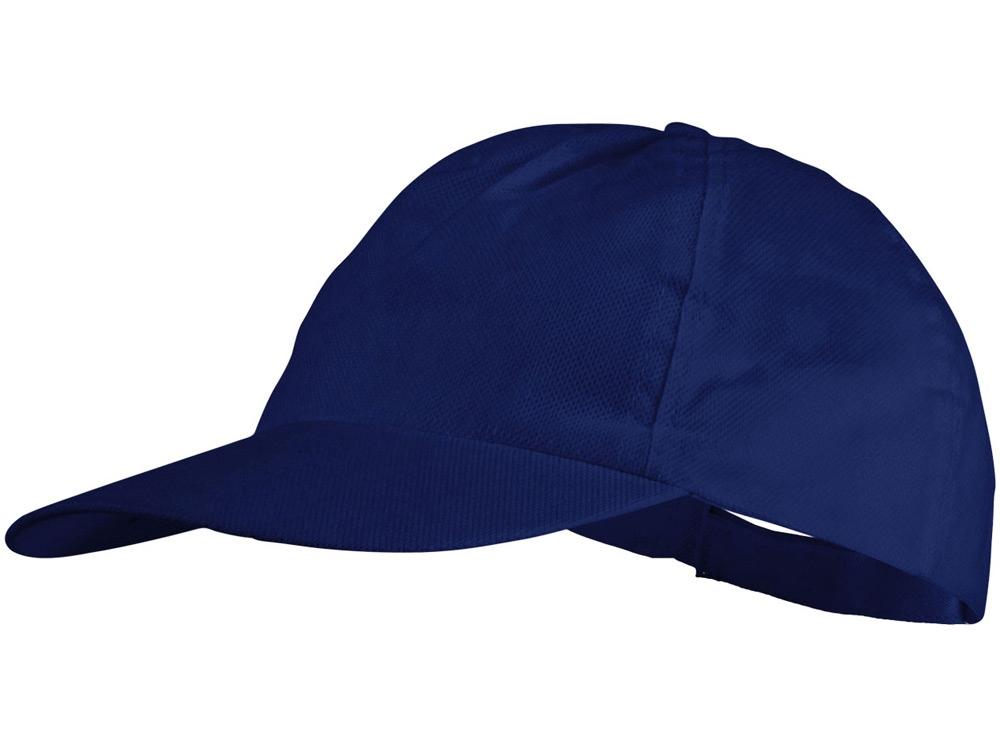Бейсболка Basic нетканая, 5-ти панельная, классический синий