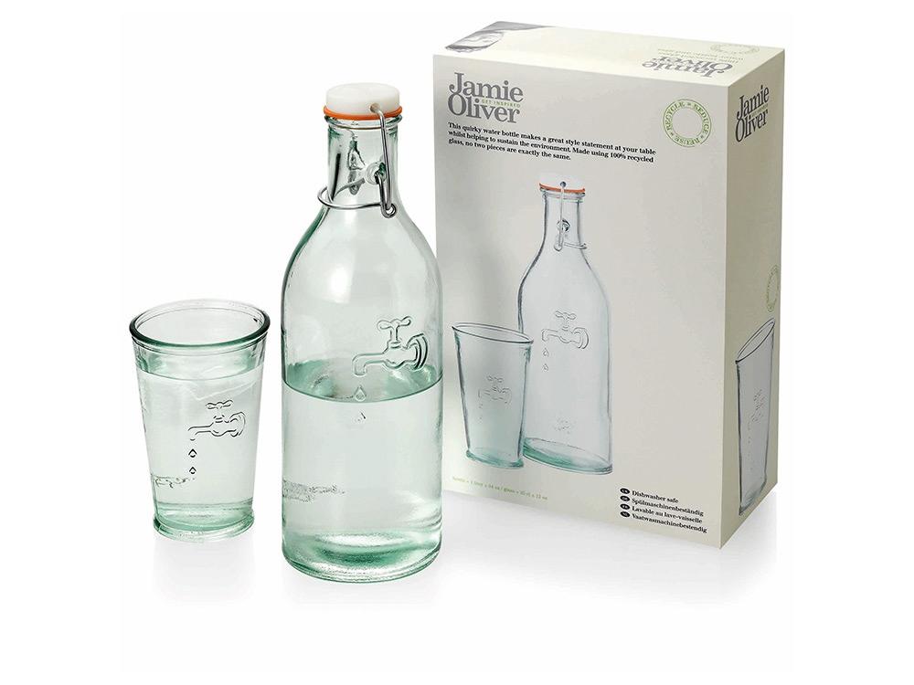 Набор графин и стакан для воды, объем 1 л.
