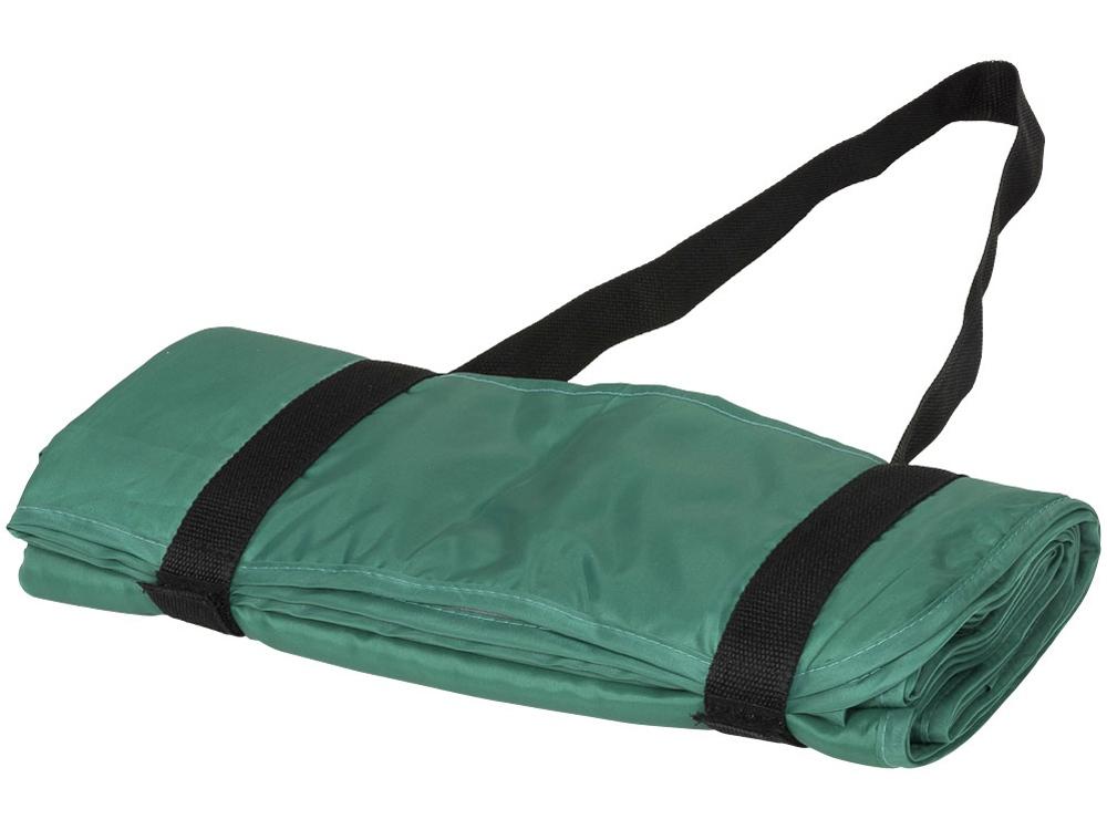 Плед Picnic с ремнем для переноски, зеленый