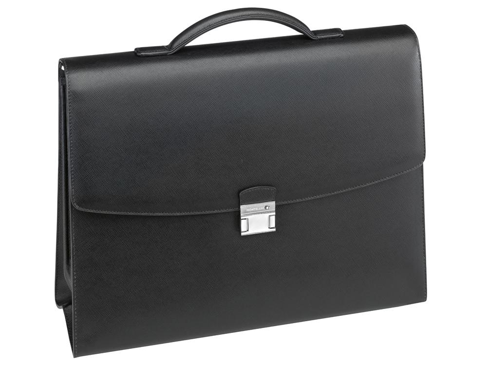 Портфель Sartorial с 2 отделениями. Montblanc , черный