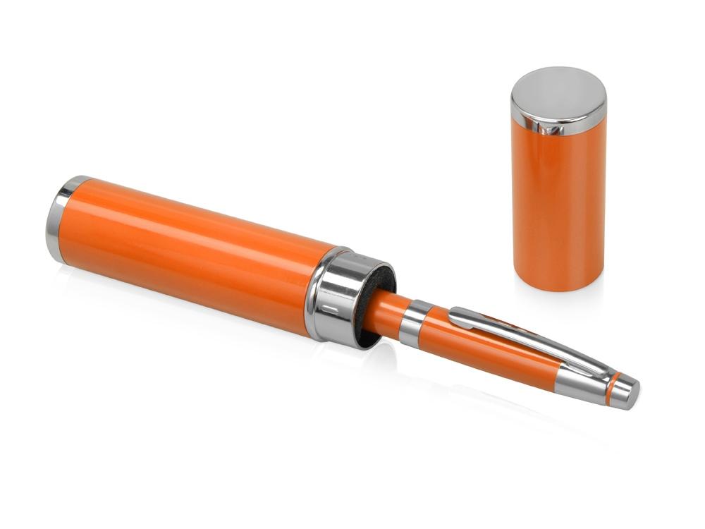 Ручка шариковая «Ковентри» в футляре оранжевая