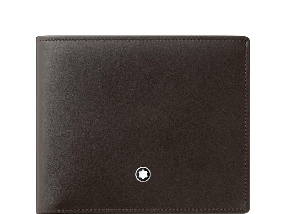Бумажник 6 сс Meisterstück с 2 прозрачными отделениями. Montblanc