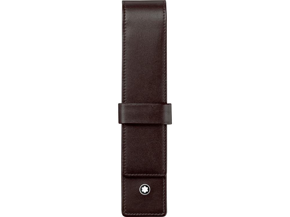 Чехол Meisterstück для 1 ручки. Montblanc, коричневый