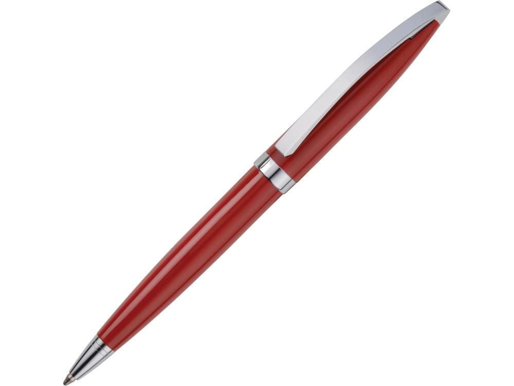 Ручка шариковая Куршевель красная