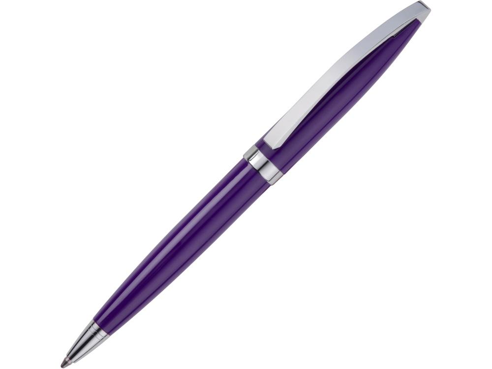 Ручка шариковая Куршевель фиолетовая