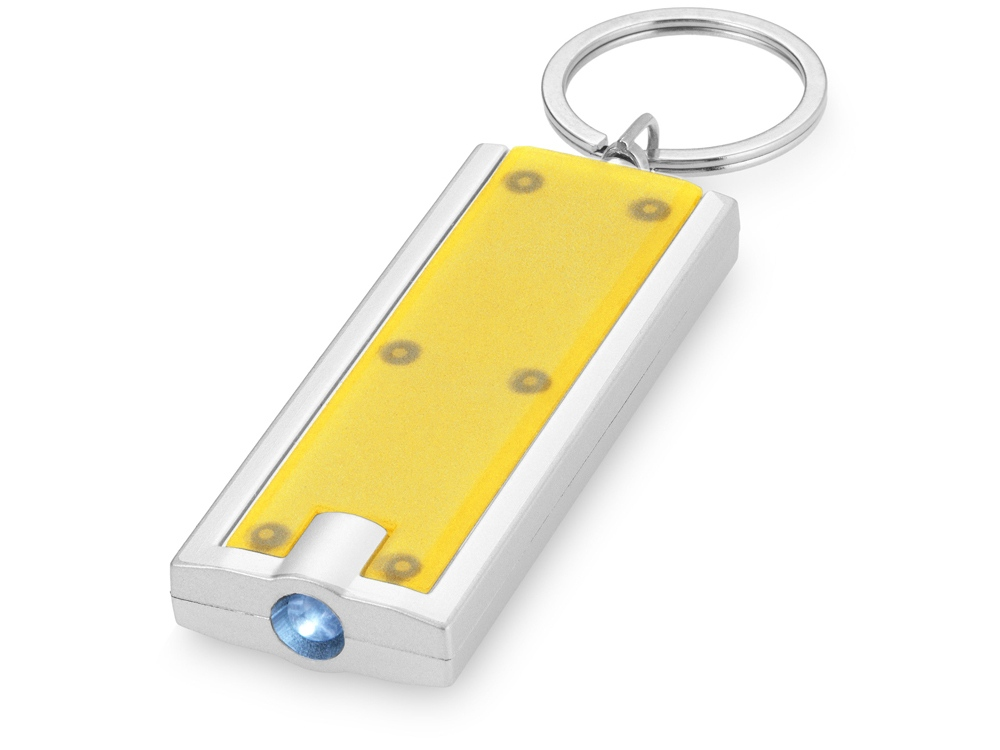 Брелок-фонарик Castor, желтый