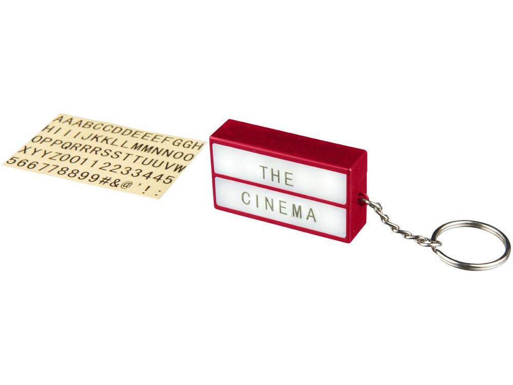 Брелок - фонарик Cinema, красный