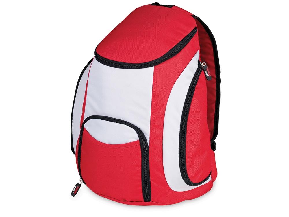 Рюкзак-холодильник Brisbane от Slazenger, красный/серый