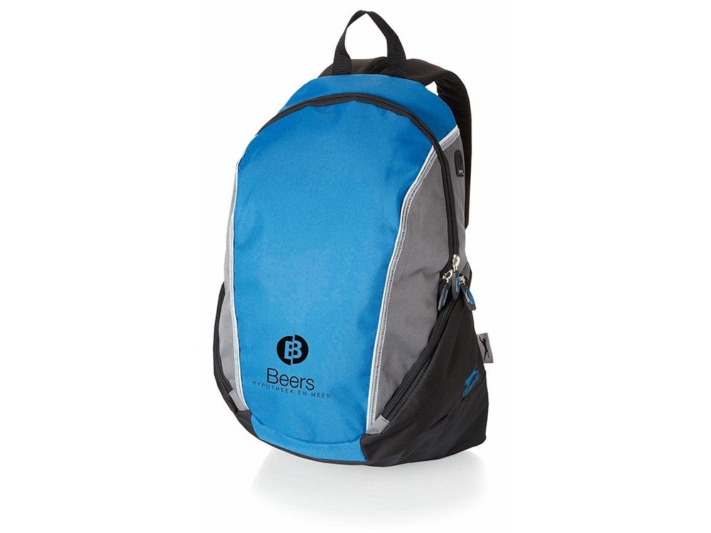 Рюкзак Brisbane, синий классический/серый