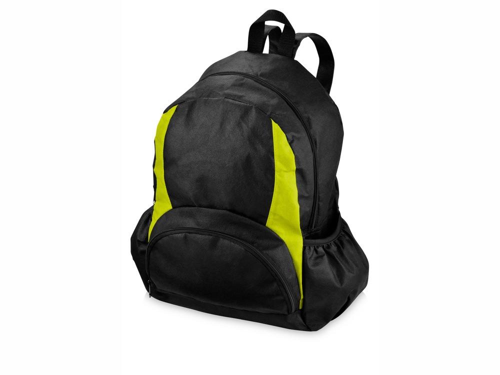 Рюкзак Bamm-Bamm, черный/зеленое яблоко