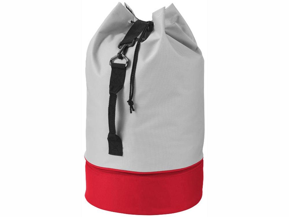 Вещмешок Dipp, серый/красный