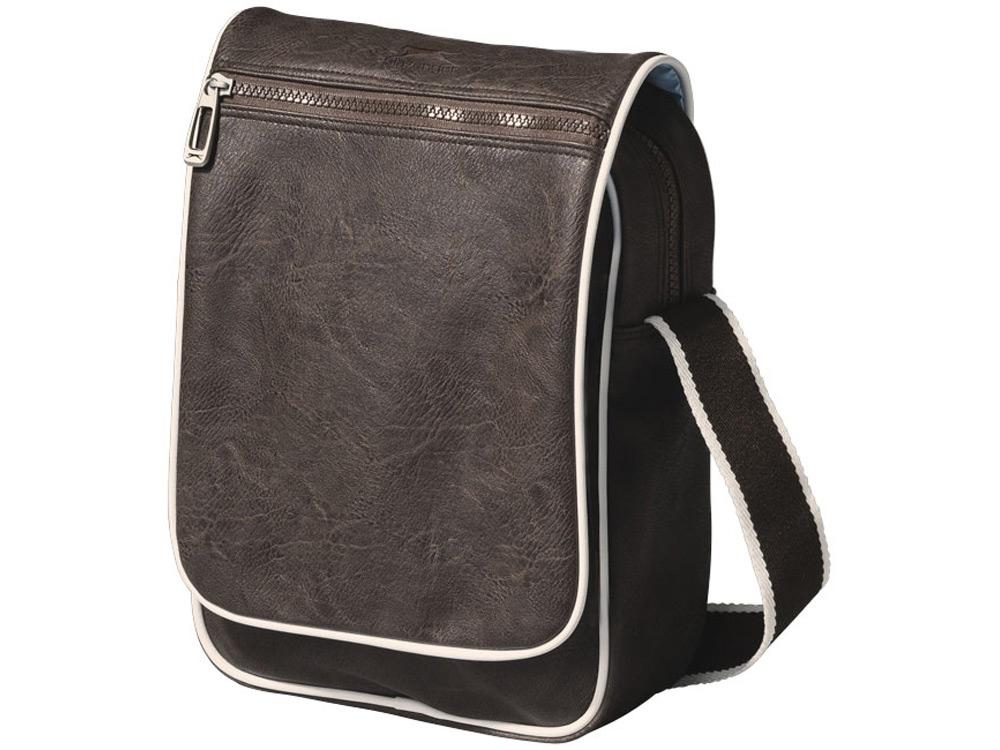 Сумка Richmond с откидным карманом, коричневый