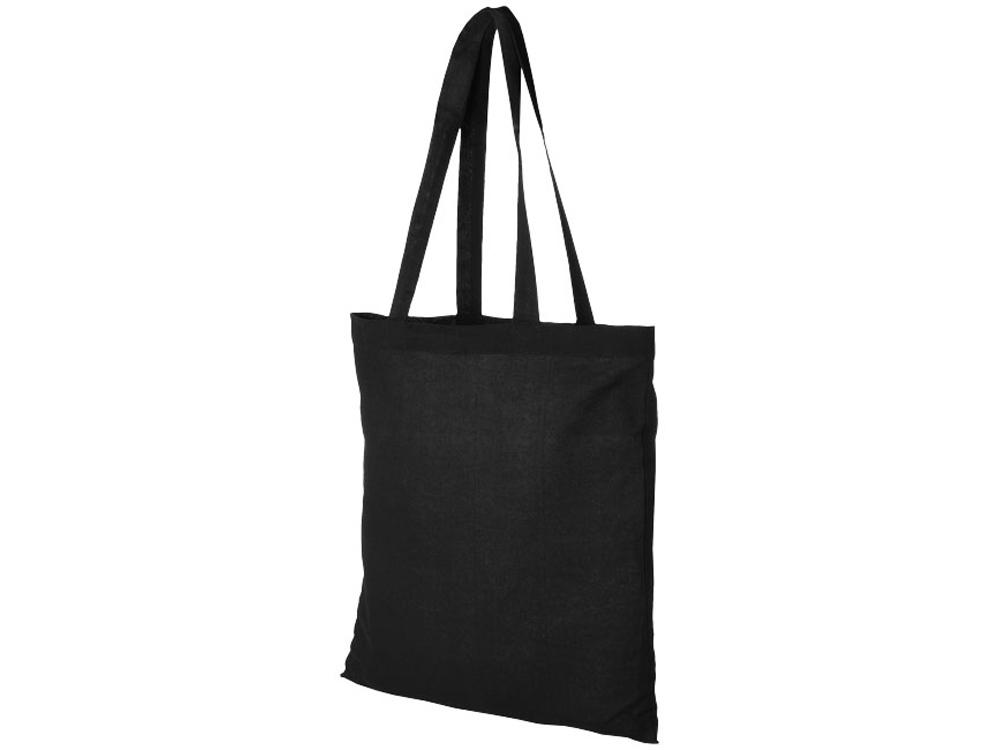 Хлопковая сумка Madras, черный