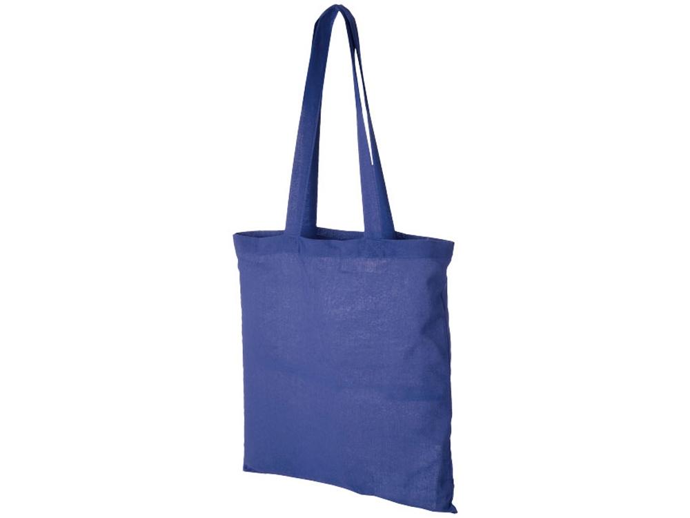 Хлопковая сумка Madras, ярко-синий