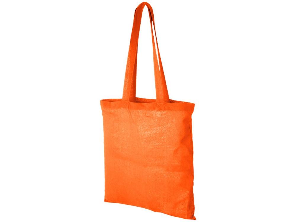 Хлопковая сумка Madras, оранжевый