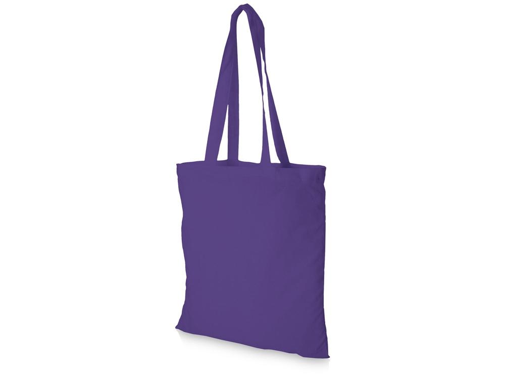 Хлопковая сумка Madras, лавандовый