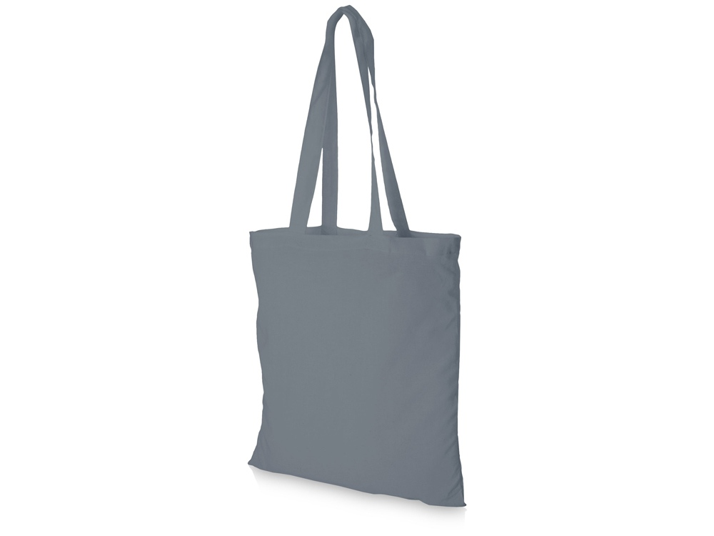 Хлопковая сумка Madras, серый