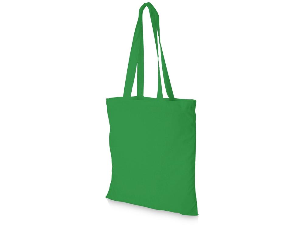 Хлопковая сумка Madras, св. зеленый