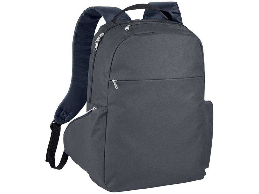 Компактный рюкзак для ноутбука 15,6, темно-серый
