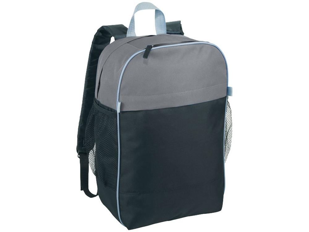 Рюкзак Popin Top Color для ноутбука 15,6, черный/серый