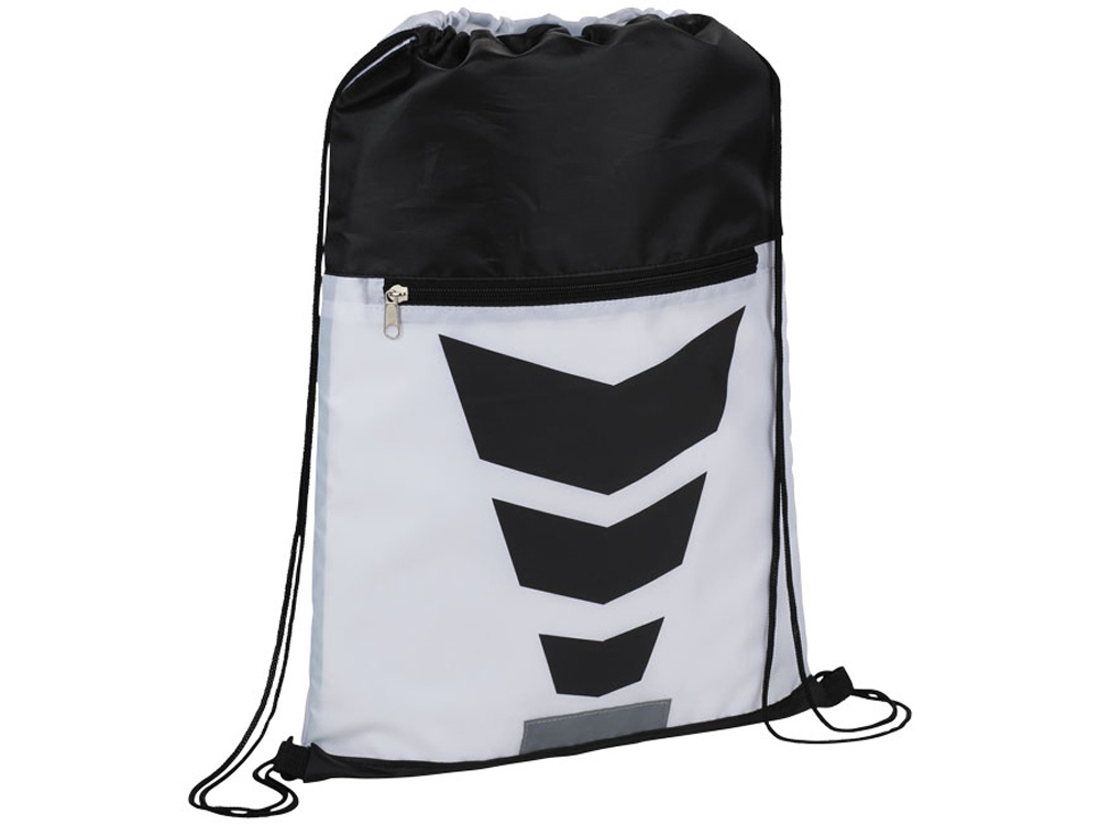 Рюкзак на шнурке Courtside, белый/черный