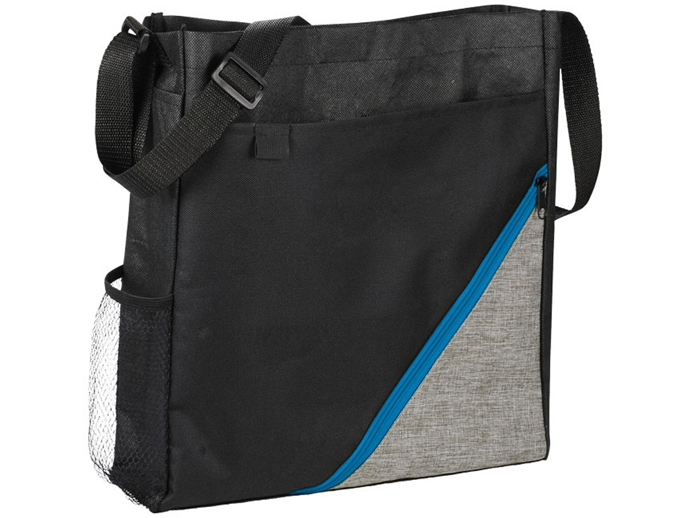 Сумка Corner через плечо, черный/серый/синий