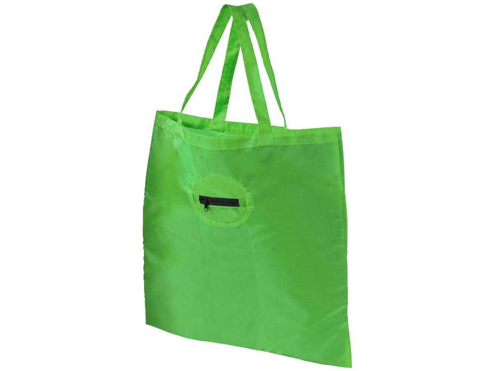 Складная сумка для покупок, лайм