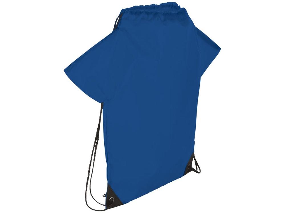 Рюкзак с принтом футболки болельщика, ярко-синий