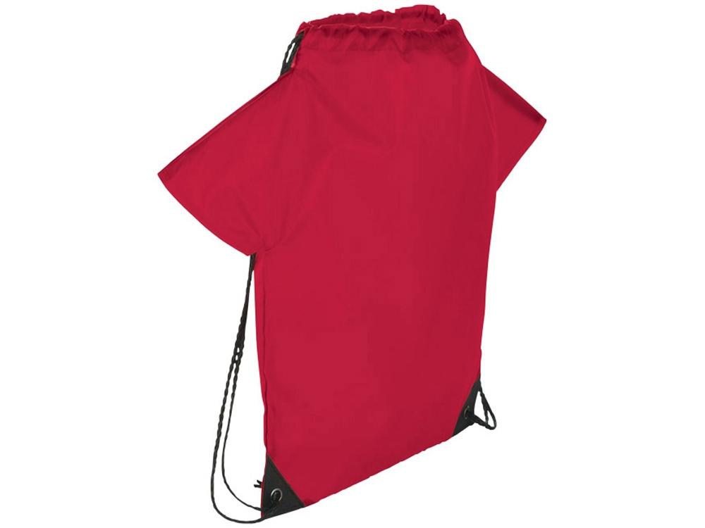 Рюкзак с принтом футболки болельщика, красный