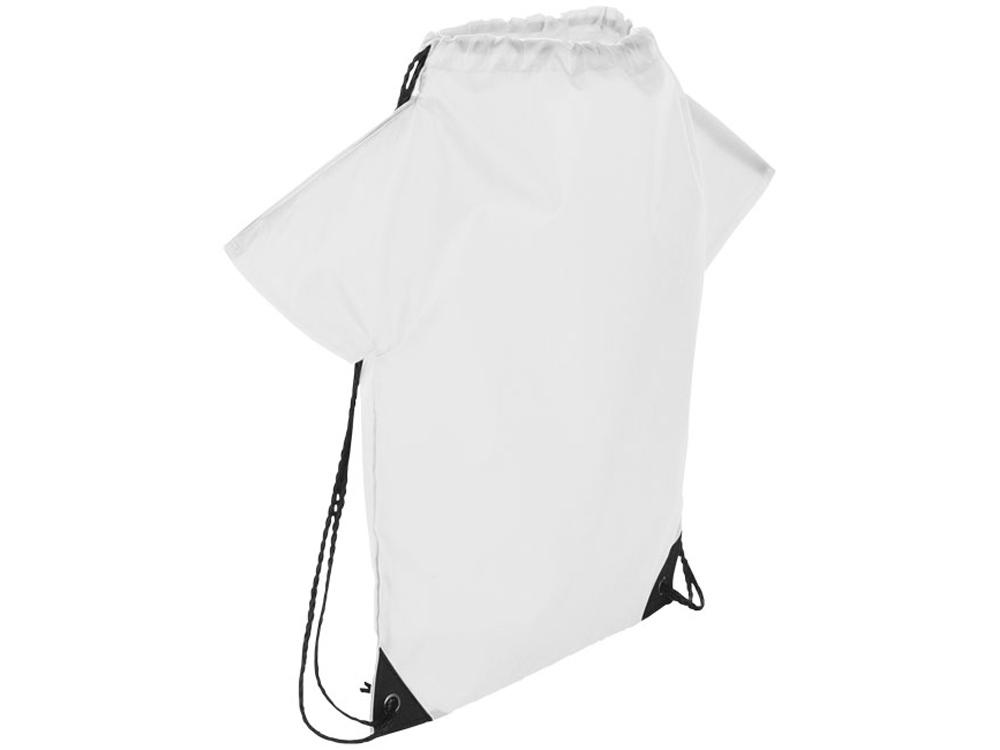 Рюкзак с принтом футболки болельщика, белый